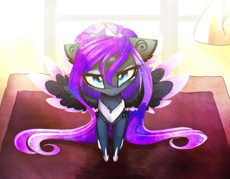 Little Grumpy by MagnaLuna