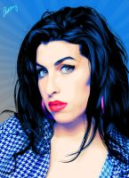 Amy Winehouse by fabulosity