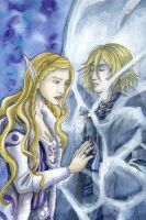 Graves of Ice- Eleber and Aine by Valaquia