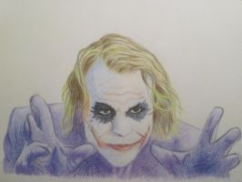 The Joker by EnigmaticDoodle