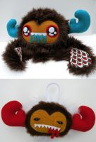 STUFF THIS monster + ornament by loveandasandwich