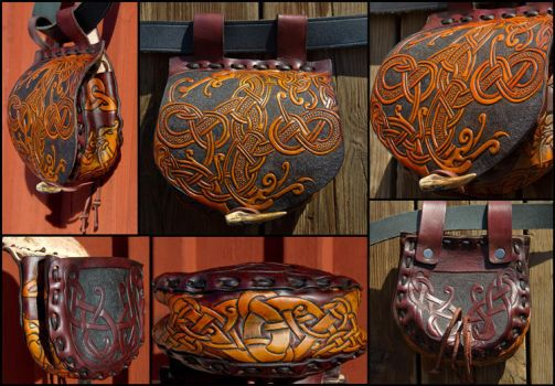 Sword Of Suontaka Belt Bag by Wodenswolf