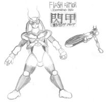 Flash Armor: Lightning Bug by ayellowbirds