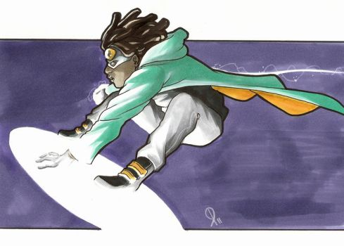 Static Shock by steven-donegani
