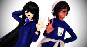 .:MMD:Only Blue:. by Master-Chuu
