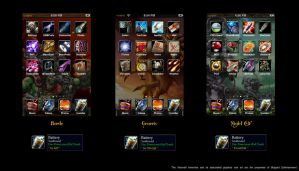 Warcraft iPod touch theme by ThunderBreak
