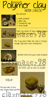Polymer clay Herb Cheese Tutorial- REMAKE by claymasey98