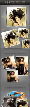 Awesome 50 Photo Effect Curl And Shadow (GR) by carnine9