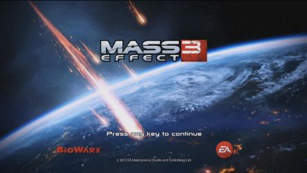 Mass Effect 3: Streaming Today @ 2:00 p.m. EST by TheWonderingSword