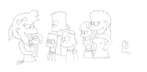 Simpsons Kids Generations by MrNintMan