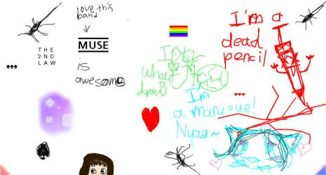 more iscribble randomness by Lady-Catharina