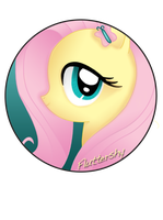 Fluttershy Pin by BrittanysDesigns