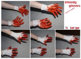 bloody hands stock by carro-stalk