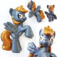 Derpy Hooves Custom Blind Bag Repaint Figure by JuliefooDesigns