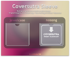 Coversutra sleeve by blaugrana-tez
