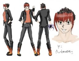 Character Profile: Ki Montmorency by Meagharan