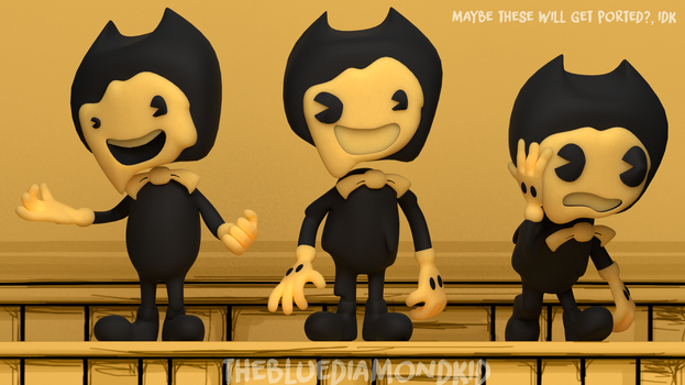 [BATIM/Blender] Melty Bendy by TheBlueDiamondKid