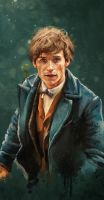 Fantastic Beasts: Newt and Pickett by Silvaticus