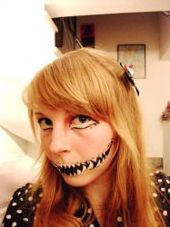 Last Halloween Makeup '12 by Vulli