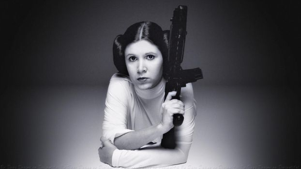Carrie Fisher Princess Leia XX by Dave-Daring