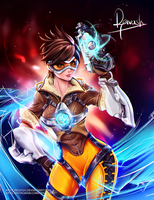 Tracer from Overwatch by Reivash