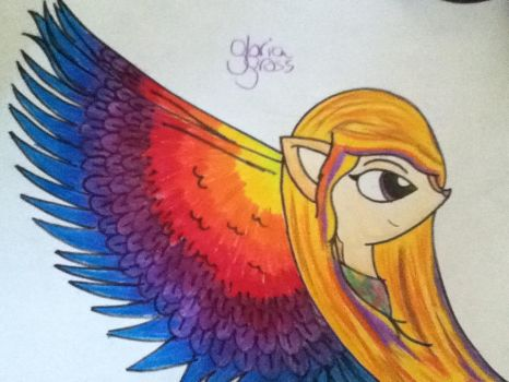 The Phoenix's wings~ by GloriaTheFamiliette