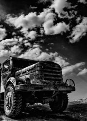 old truck by mightymouse007