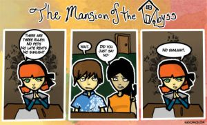 The Abyss Mansion 2 by Kuocomics