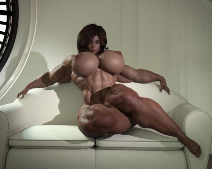 Maria - Sensual muscle by Neonwizzard