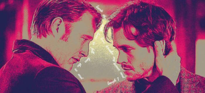 Will Graham + Hannibal Lecter by ScorpionFlower1
