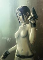 Ghost in the Shell - Major Kusanagi by Dinoforce