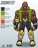 Doomfist Idea by MichaelJLarson