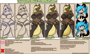 commission sheet by TehButterCookie