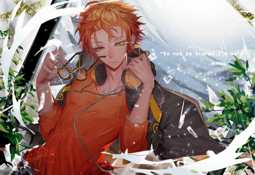 707  Do not be scared I'm here [mystic messenger] by NaseCafe