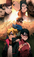 Boruto Episode 24 'Boruto and Sarada' by Jeky-kun