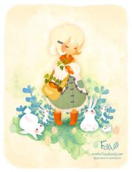 Easter, chocolate and bunnies ! by Foyaland