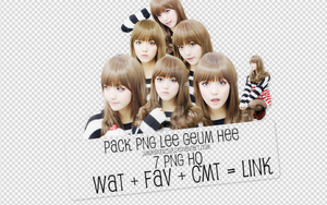 Pack PNG #45: Lee Geum Hee Ulzzang by jimikwon2518
