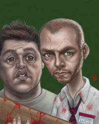 Shaun of the Dead by jonlarkins