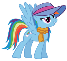 Rainbow Dash - In style by Ocarina0fTimelord