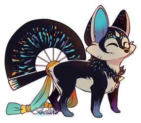 FireWorks Foxfan for Valtrix by Belliko-art