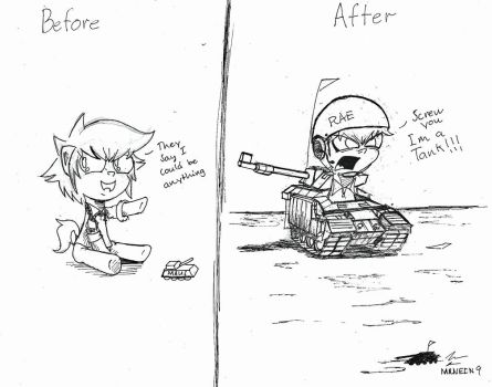 Rae the Tank by MRNEIN9