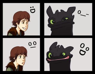 HTTYD - Smile by gabzillaz