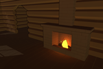 3Dcember - Day5 - House interior 1/2 by Daragos90