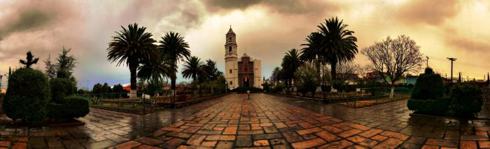 Catedral de Ozumbilla -full view, please- by erich-alexey