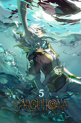 Carciphona book 5 cover by shilin