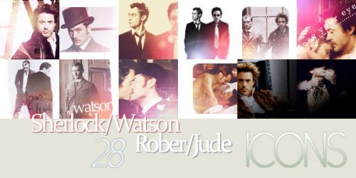 28x RDJrxJL and SHxJW Icons by FirstTimeLady
