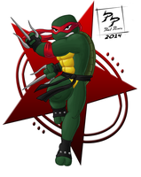 Raphael Is Cool But Rude by Paul-Powers