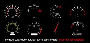 Auto Gauges by thesuper
