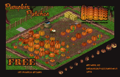 Simple Pumpkin Patches- FREE by Fuzzysandwich