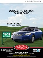 Toyota of Lewisville Golf Ad by tlsivart